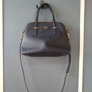 Handbags - Kate Spade NY Cedar Street Maise Satchel Navy blue